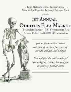 Oddities Flea Market - Bk Bazaar