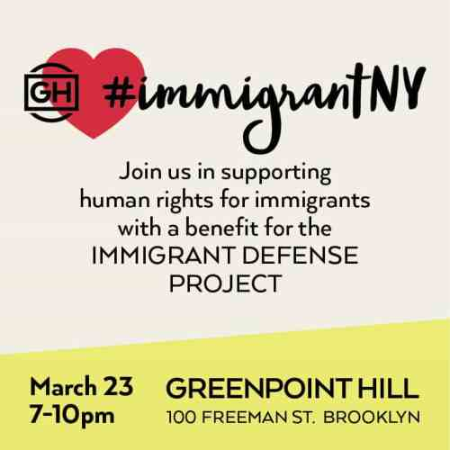 Greenpoint Hill - Immigrant Defense Project