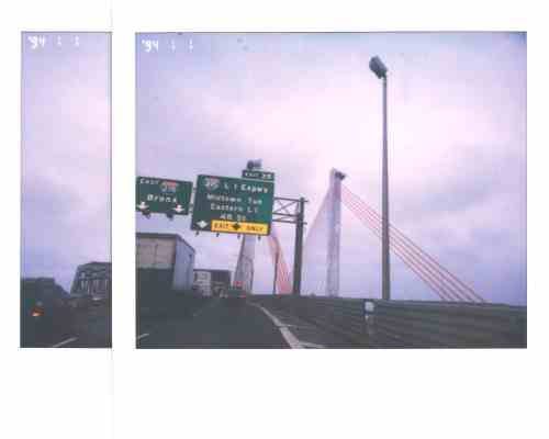 The new Kosciuszko Bridge. photo by Nick McManus