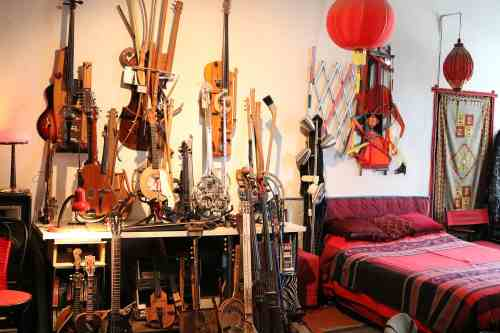 Ken Butler's Studio. Photo: Megan Penmann