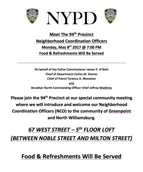 Meet The 94th Precinct 5/17