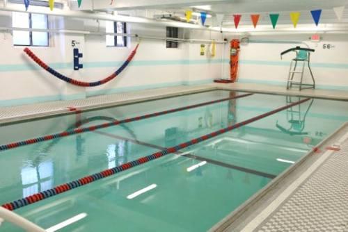 Greenpoint YMCA pool