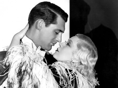 Cary Grant and Mae West in You're No Angel.