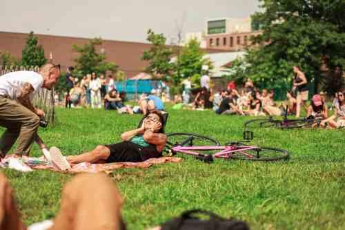 Solar Eclipse in Greenpoint - Johnny Cirillo
