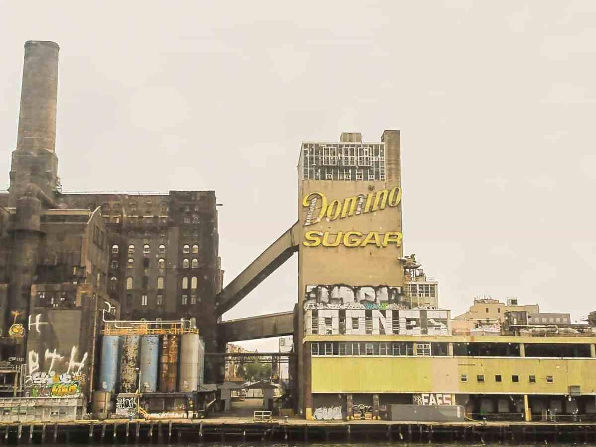Domino Sugar factory, photo by Jackie Roman