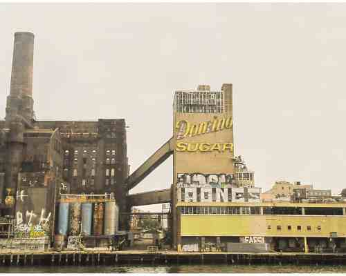 Domino Sugar factory, photo by Jackie Roman
