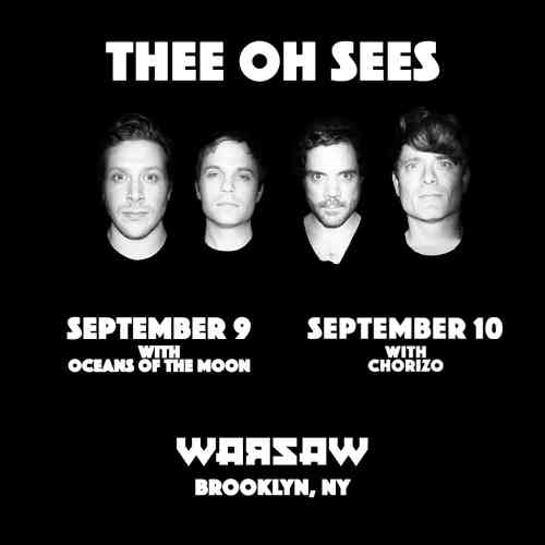 Thee Oh Sees @ Warsaw
