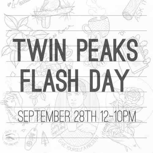 Twin Peaks Flash Day - Three Kings Tattoo