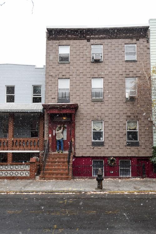 House on Noble Street. Photo by Ian Hartsoe