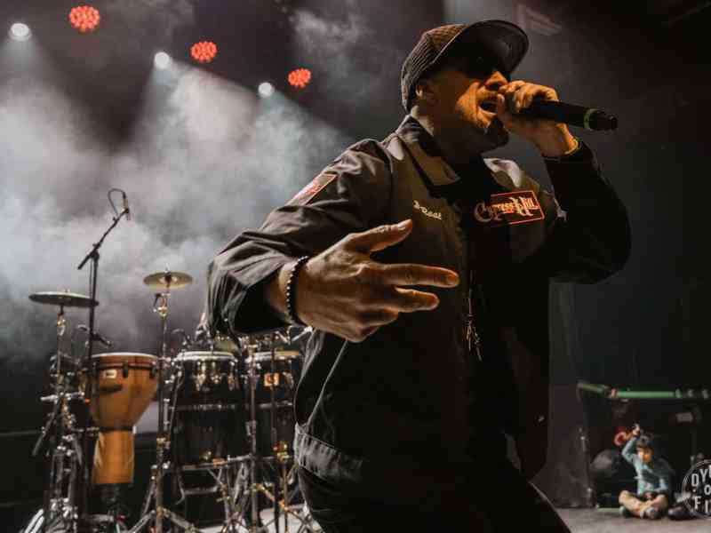 Cypress Hill at Brooklyn Steel, October 30 2017. Photo by Dylan Lappin