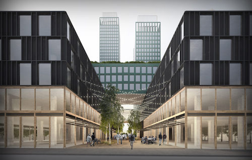 First Rendering of the forthcoming tower at 18 India Street
