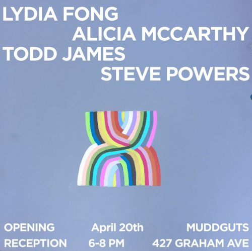 Muddguts opening reception April 20