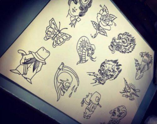 magic cobra tattoo society - friday the 13th flash
