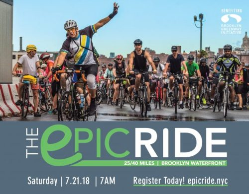 The Epic Ride 2018