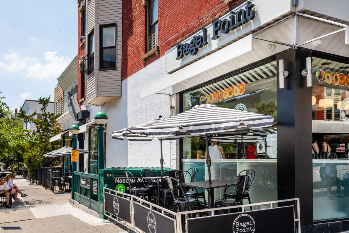 Where To Work Remotely Outside in Greenpoint