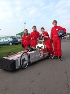 chipping sodbury school chainreaction f24 greenpower team
