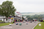 Greenpower Goodwood Heat race one start