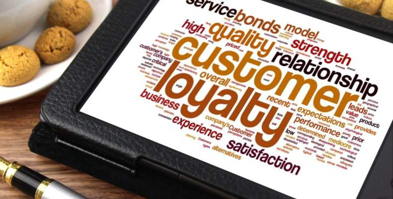 Customer Loyalty on Tablet