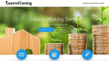 Learn4Saving Home Page