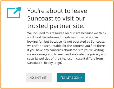 Suncoast CU Interstitial Trusted Partner Site