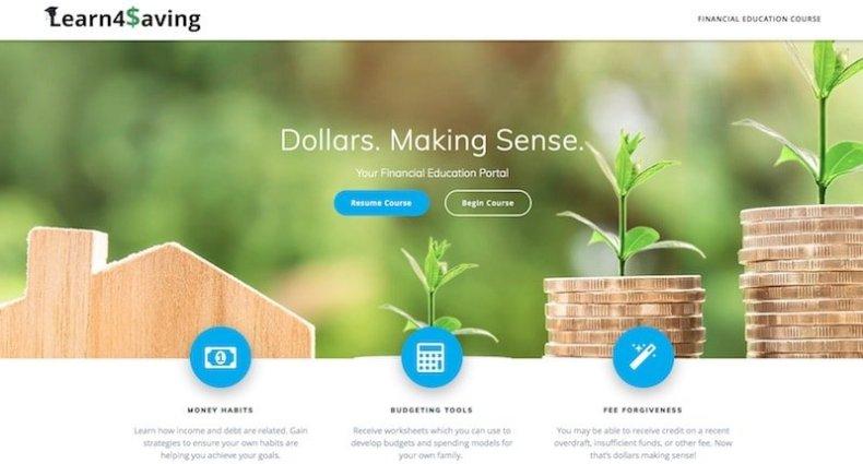 Learn4Saving Home Page