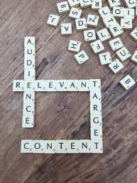 Audience Relevant Content Scrabble