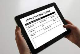 Application on Tablet