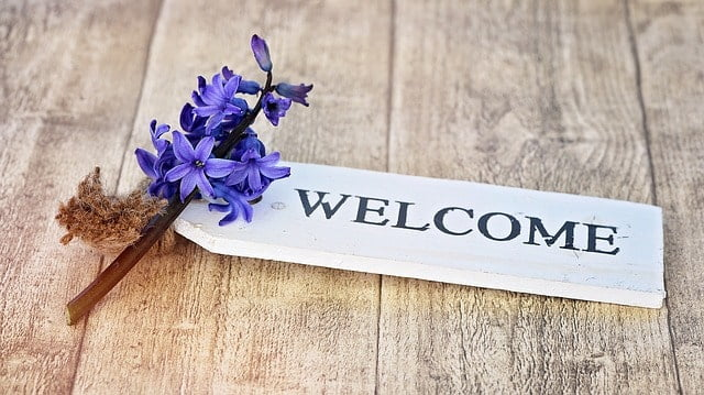 Welcome with Hyacinth