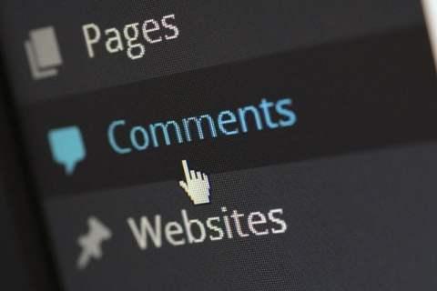 Wordpress Comments Tab