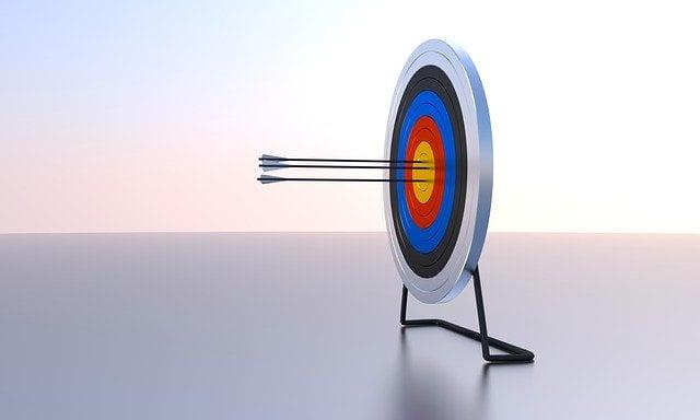 Arrows on Bullseye