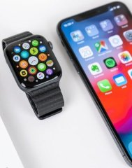 Apple Watch and iPhone
