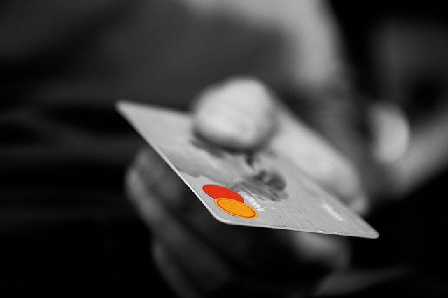 Handing Over Mastercard