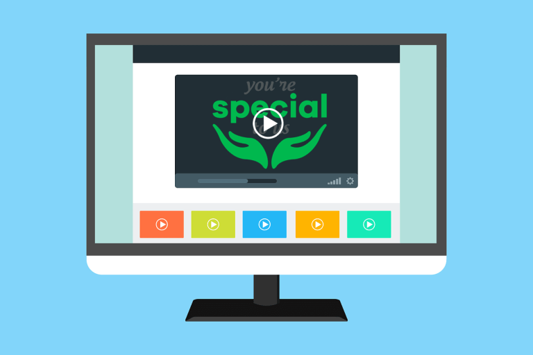 Videos on Desktop - You're Special