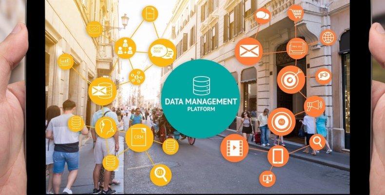 Data Management Chart on iPad