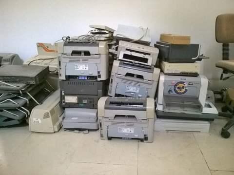Pile of Printers