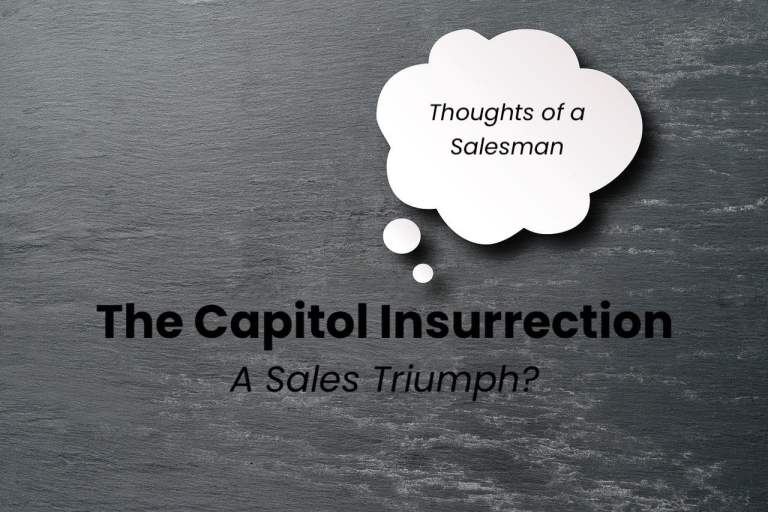 Thought Bubble - Capitol Insurrection