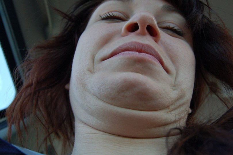 double chin exercises