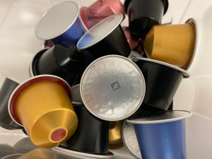 Nespresso is leading a coffe pod recycling scheme in the UK