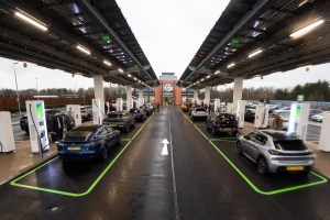 Gridserve's electric forecourt, Braintree