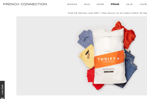 FRench Connection announces Thrift take-back service