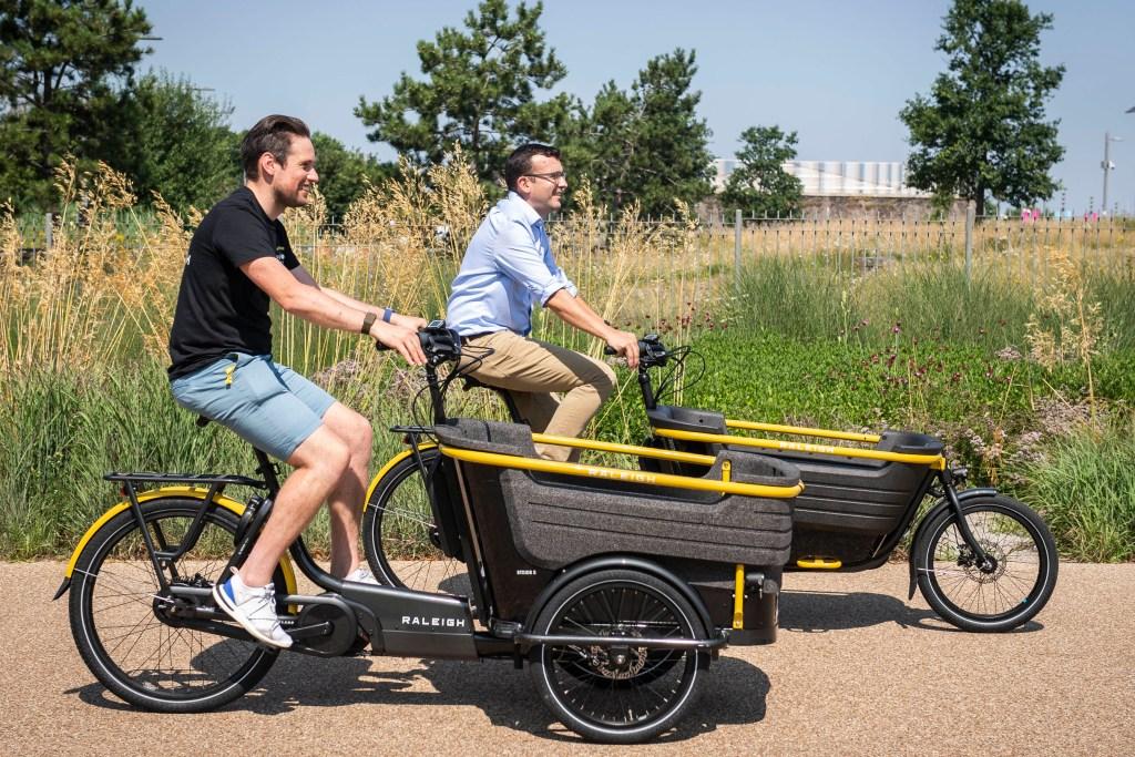 Raleigh's new e-cargo bike