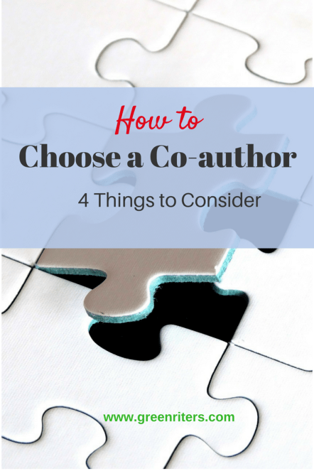 how to choose a co-author