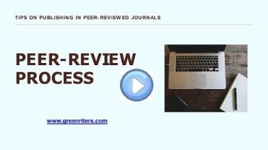 peer-review process