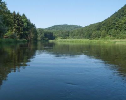 Canoeing on the Semois