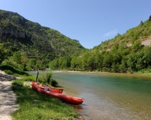 On the Tarn river, Tarn, France