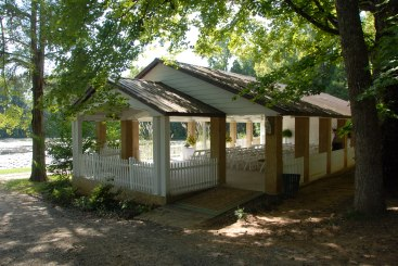 Open Air Pavilion Early Fall