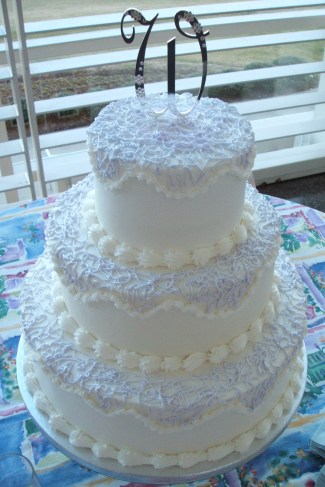 Three-tier Round Cake