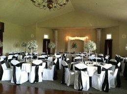 Gatehouse Reception Setup