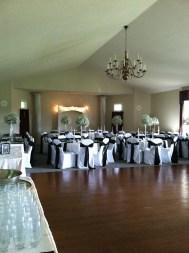Gatehouse Setup for 70 Guests