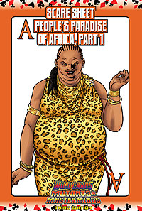 Wild Cards SCARE Sheet 11: The Aces of the People's Paradise of Africa, Part 1